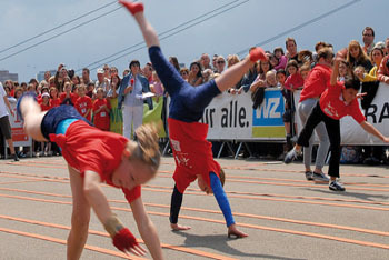 Dusseldorf Cartwheel Competition