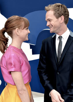 Jayma and Neil at the premiere