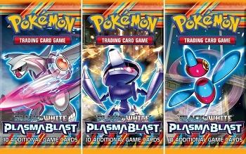 Pokémon Black and White Plasma Blast Booster Packs