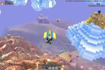 Hang Gliding Across a Huge World