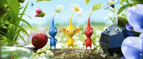 Each Pikmin type has its own strengths. Time to strategize!