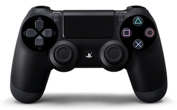 The improved Dual Shock 4 controller.