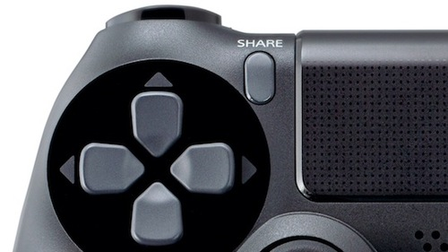 PS4's Share button allows for instant recording and uploading of game footage!