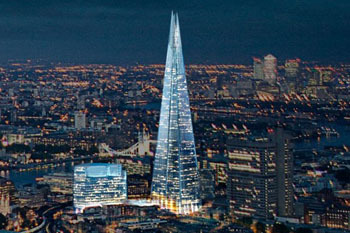 The Shard - the tallest building in the European Union!