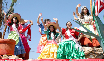 There are parades and public festivities for Mexican Independence Day