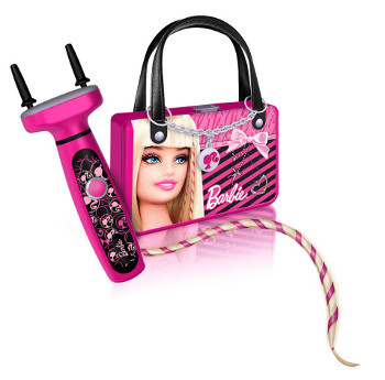 With Barbie's new hair styling tools, you can braid, bead and wrap your locks