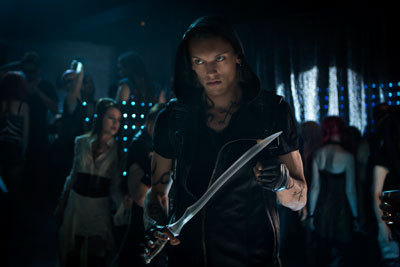 Jace with his glass sword