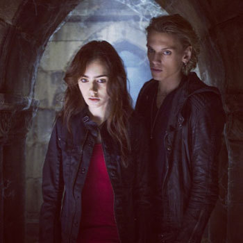 Clary and Jace in the City of Bones