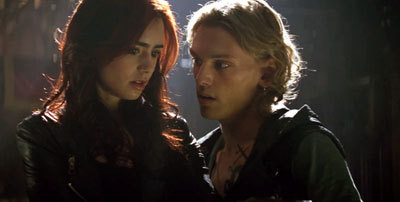 Jace explains shadowhunting to Clary