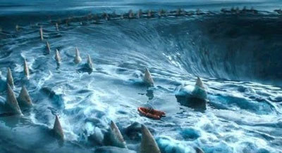 Swallowed by giant Charybdis