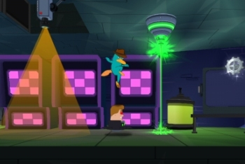 Play as Perry in Action Mode!