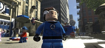 Mr. Fantastic, always ready to save the day!