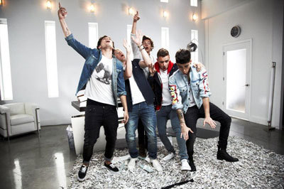 The 1D guys catch the silly bug