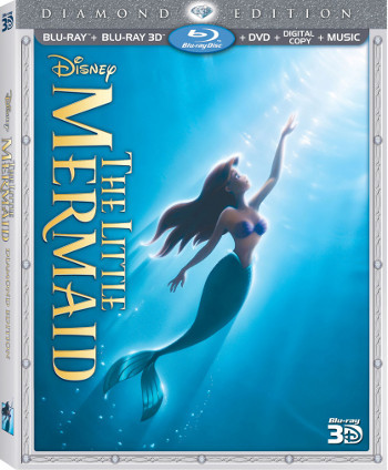 The Diamond Edition of The Little Mermaid is out October 1st
