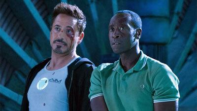 Tony and Rhodey prepare to fight Killian