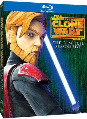 Star Wars: The Clone Wars The Complete Season Five