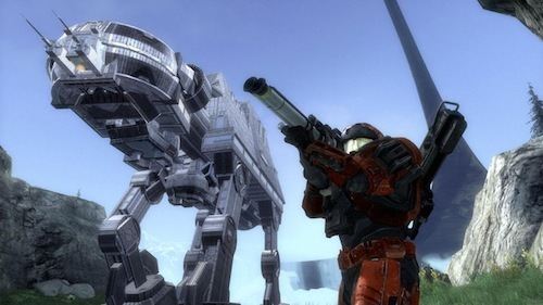 I built a full-scale AT-AT Walker in Halo's Forge...Yes you can go inside it!