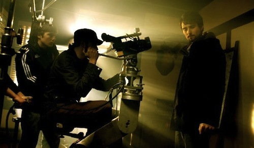 Did I mention I make movies? That's me on the camera.