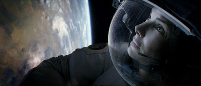 Astronaut Stone in awe of Earth from space