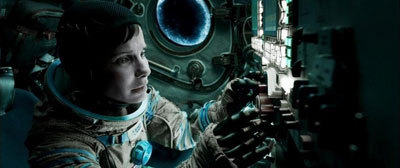 A tearful astronaut Stone fears for her life