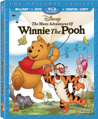 The Many Adventures of Winnie The Pooh Blu-ray Combo Pack