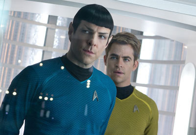 Spock and Kirk discuss Khan
