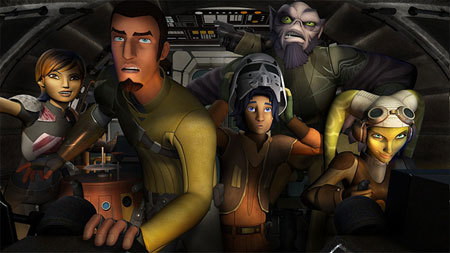 Guess who's stopping by Star Wars Rebels!
