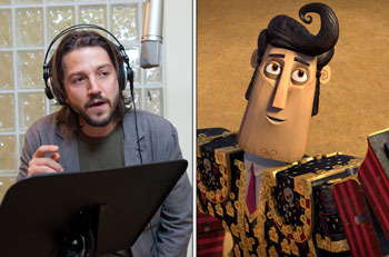 Diego Luna voices Manolo