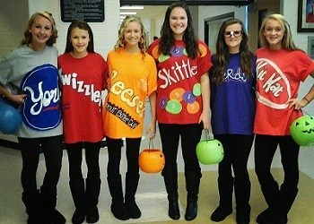 A sweet group costume that's as easy as it is delicious