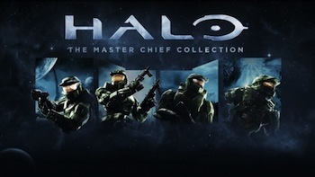 The Master Chief Collection comes with Halo 1, Halo 2, Halo 3 and Halo 4