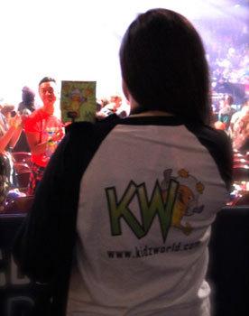 Kidzworld as We Day!