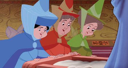 Three loving fairies