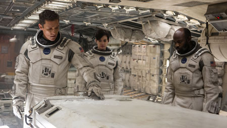 Cooper and crew get ready to awaken a hibernating astronaut