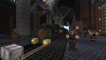 The steam-punk texture pack is available now!