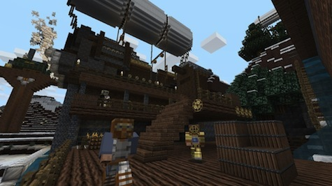 old fashioned meets futuristic in the steam-punk texture pack.
