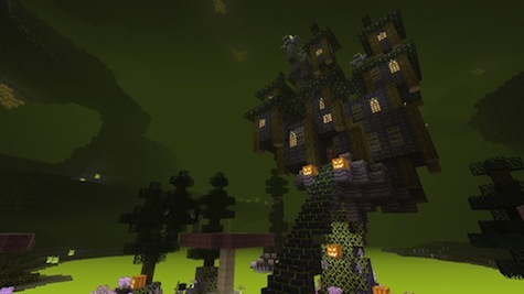 Build creepy, haunted houses with the Halloween texture pack.