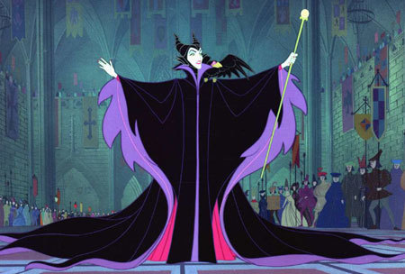MALEFICENT is scary, even when she's animated!