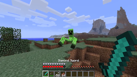Creepers get a creepy new form.