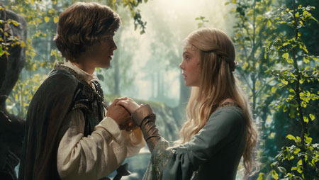 Aurora and her prince