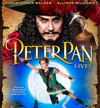 Wow! That's all we can say about Christopher Walken as Captain Hook!