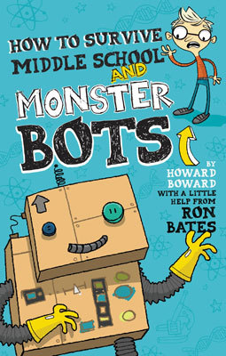 How to Survive in Middle School and Monster Bots Book Cover