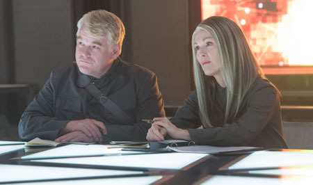 Plutarch and President Coin make plans