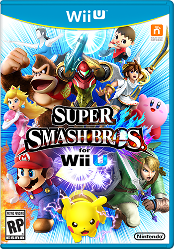 Super Smash Bros. for Wii U is available now!