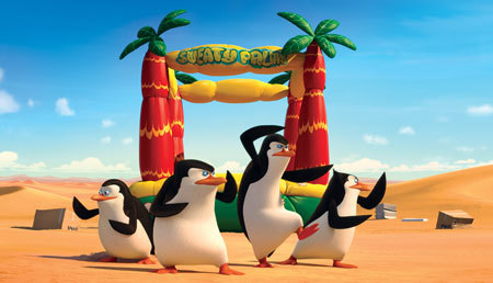 Penguins are ready for action