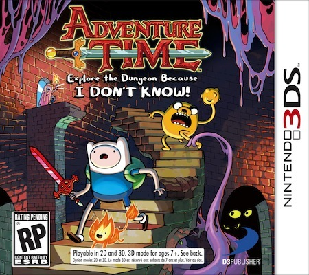 Adventure Time: Explore The Dungeon Because I Don't Know! Available Now