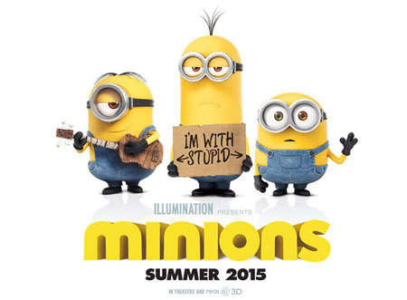 Minions are back this summer!