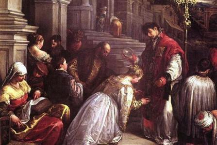 Saint Valentine married soldiers in secret