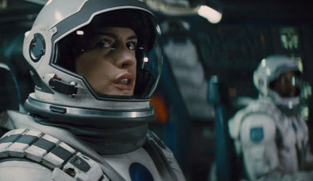 Amelia (Anne Hathaway) hopes the last planet will be our new home