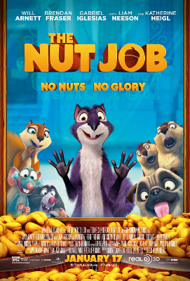 The Nut Job is in theaters in 3D now!