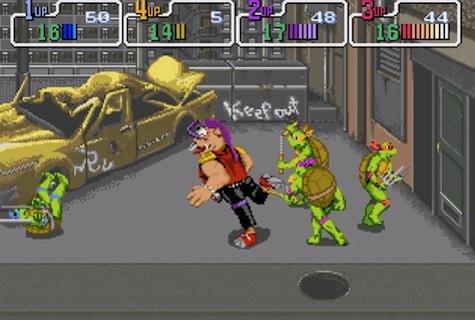 TMNT 2: The Arcade Game - Arcade/NES